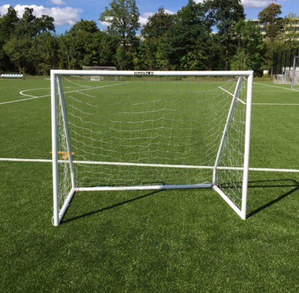 1 stk Fodboldmål i aluminium 200 x 150cm
